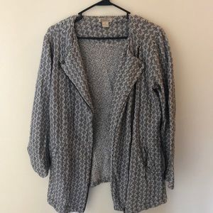 Tweed-esque Lucky Brand sweater/jacket